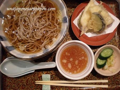 soba fideos japoneses comida japon unajaponesaenjapon.com