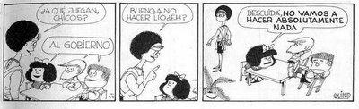 mafalda quino jugar al gobierno unajaponesaenjapon.com