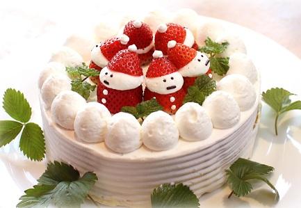 navidad en japon torta unajaponesaenjapon.com