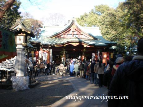 año nuevo en japon primera visita al templo hatsumode unajaponesaenjapon.com