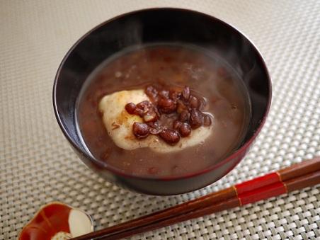 oshiruko judias comida japon anio nuevo unajaponesaenjapon.com