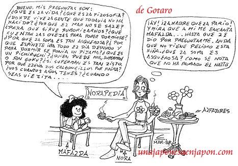 nora y mafalda gotaro unajaponesaenjapon.com