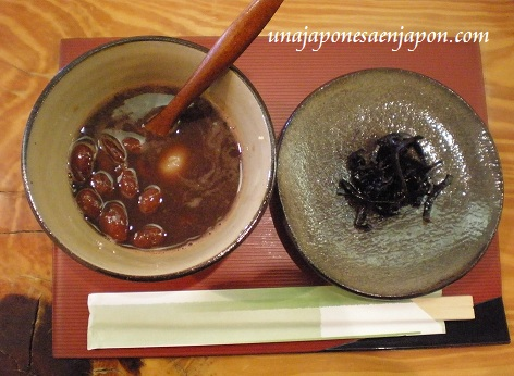 zenzai sopa dulce de judias japon unajaponesaenjapon.com
