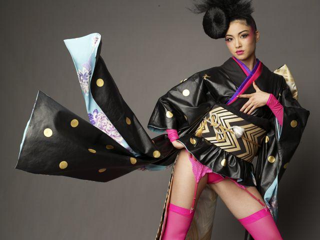 Kimonos:Vestimenta japonesa