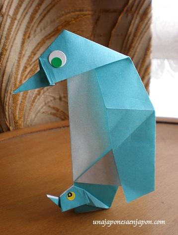 Pinguino origami taxi okinawa japon