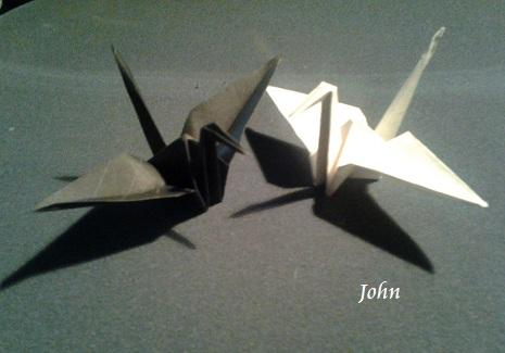 grullas de John