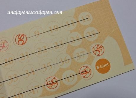 tarjetas de puntos japon 1