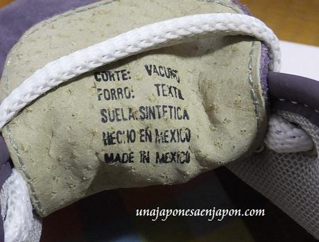 zapatillas mexicanas una japonesa en japon