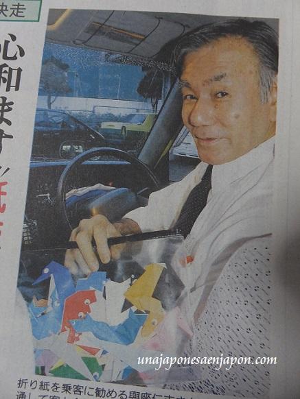 ichi-go ichi-e taxi origami okinawa japon