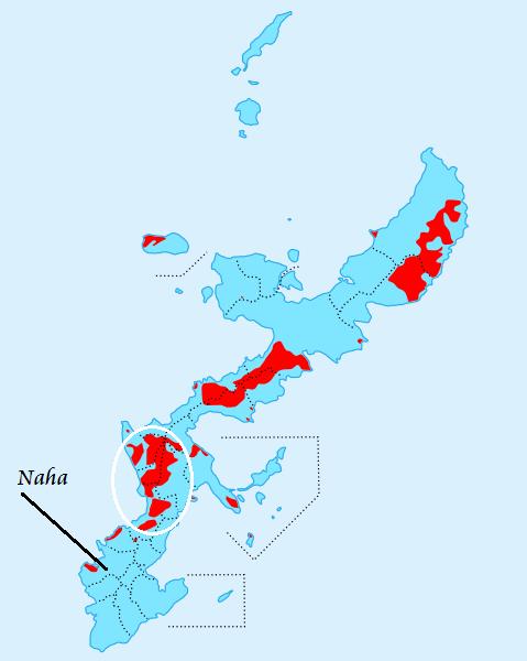 bases militares de los estados unidos en okinawa japon