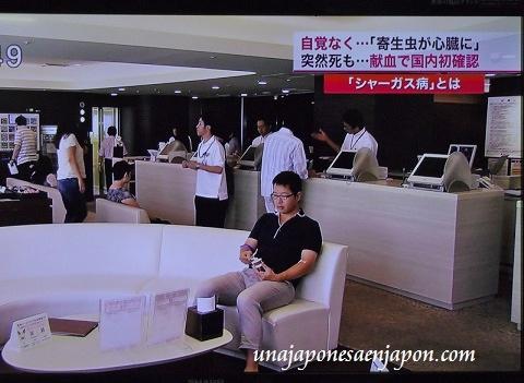 enfermedad de chagas en japon