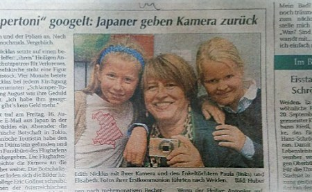 camara digital perdida devuelta a su dueña alemania japon 5