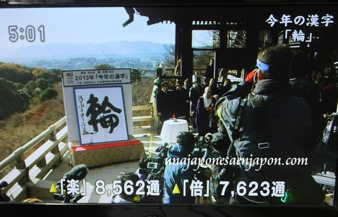 kanji del año 2013 Wa circulo anillo kyoto japon 5