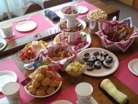 fiesta de cumpleaños jardin de infantes japon 5
