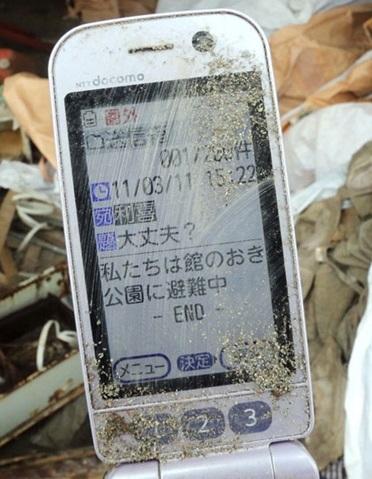 terremoto 2011 japon celular encontrado dos años despues