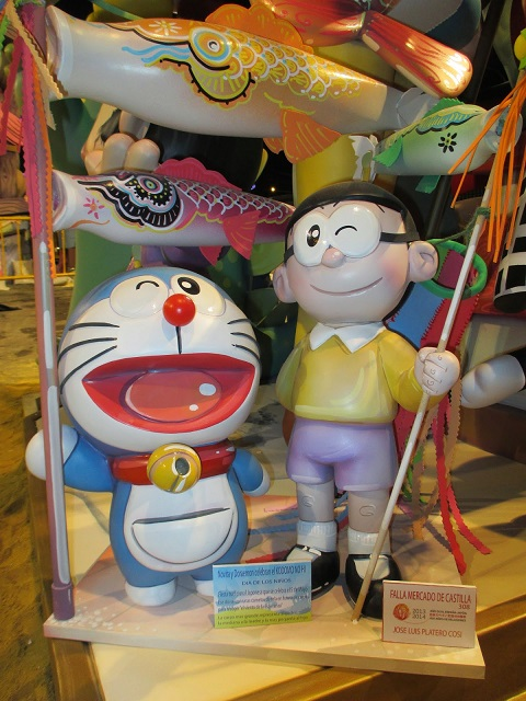 falla infantil 2014 ninot valencia año dual españa japon 4
