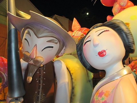 falla infantil 2014 ninot valencia año dual españa japon 6