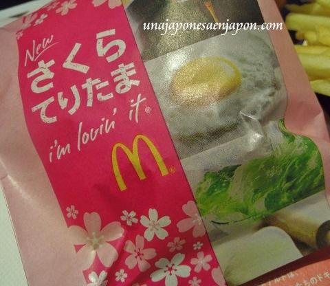hamburguesa mcdonalds sakura teritama primavera rosa japon 2