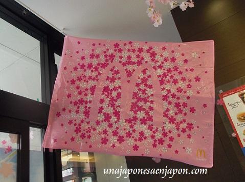hamburguesa mcdonalds sakura teritama primavera rosa japon 9