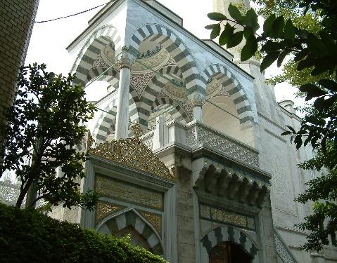 mezquita turca tokyo camii shibuya japon 1