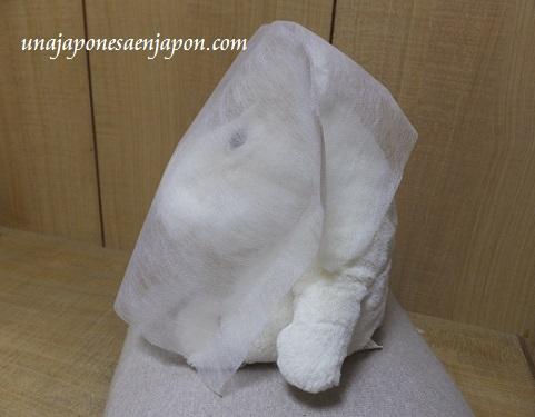 panuelo para cubrir la cara probador japones japon 3