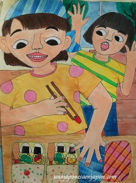 dia de la madre en japon 2014 dibujos niños japoneses