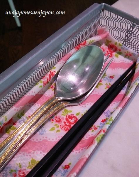 tenedor cuchara palillos o-hashi japon