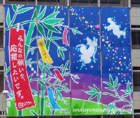 7 de julio 2014 fiesta de las estrellas tanabata matsuri okinawa japon