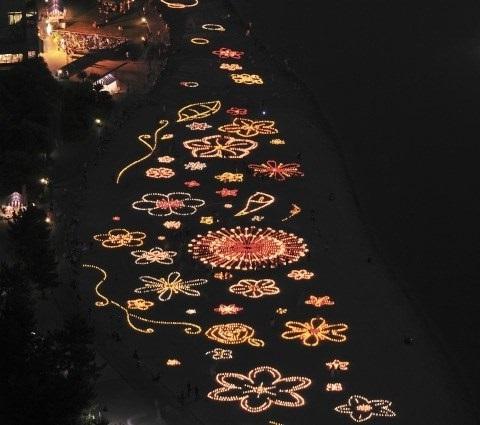 festival de la luz del mar  odaiba japon 5