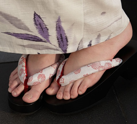 verano japones geta calzado tradicional japones japon