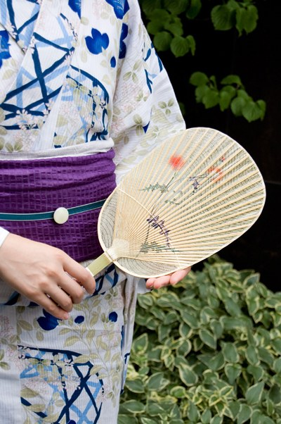 verano japones mizu uchiwa pantalla de agua japon
