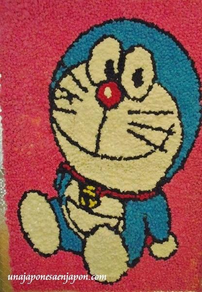 arte con bolitas de papel dia del respeto a los mayores japon 1