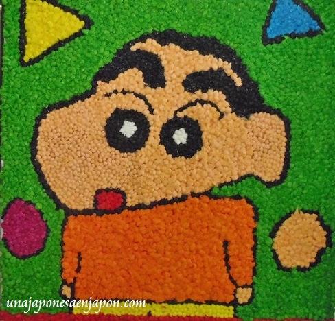 arte con bolitas de papel dia del respeto a los mayores japon 3