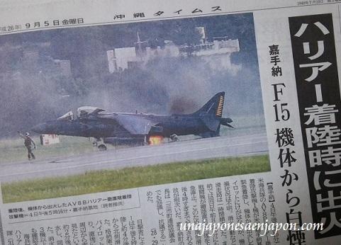 base-kadena-okinawa-avion-fracaso-aterrizaje-2014