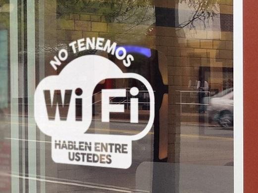 cartel sin wi-fi humor