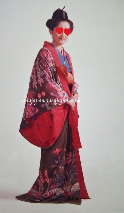 nora y el Bingata, vestimenta tradicional de Okinawa