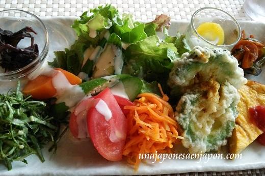 comida vegetariana japon