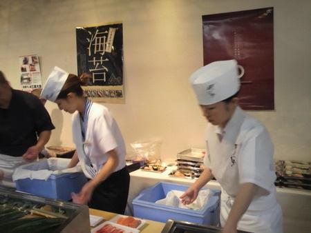mujeres chef de sushi itamae japon 4