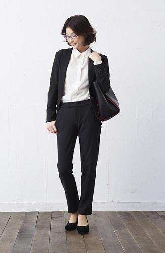 mujer japonesa pantalones para trabajar japon 1