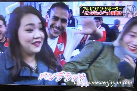 futbol mundial en japon hinchas river millonarios 2