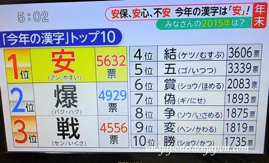 kanji del año 2015 japon yasu seguridad barato 4