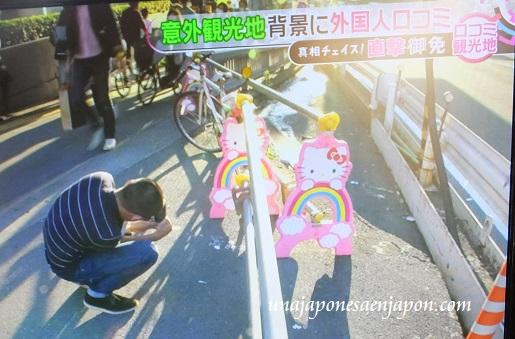 barreras de proteccion obras kitty chan shinjuku tokyo japon