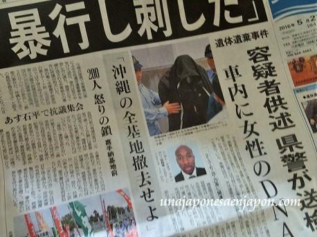 arrestado ex marine estadounidense okinawa japon