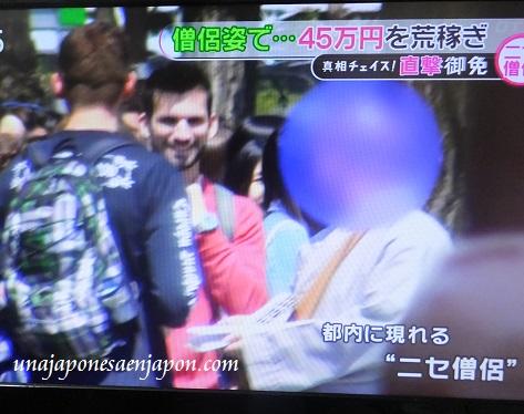 falsos monjes budistas tokyo japon 4