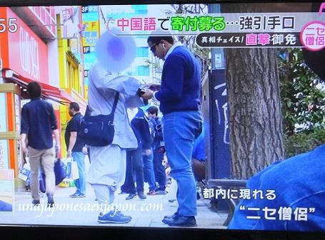 falsos monjes budistas tokyo japon 5