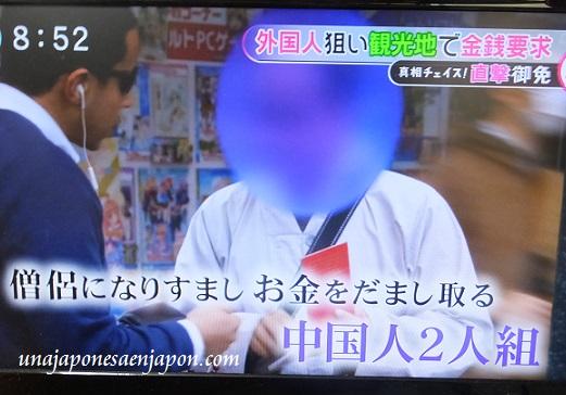 falsos monjes budistas tokyo japon