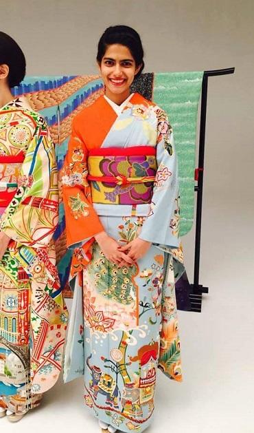 kimono project japon olimpiadas 2020 india