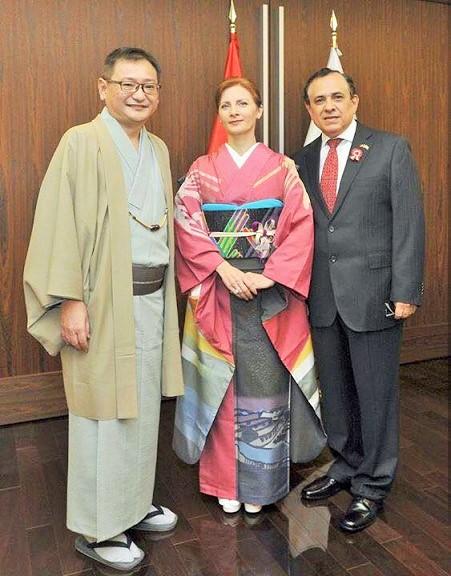 olimpiadas 2020 tokyo kimono project peru japon