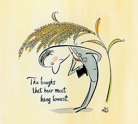 La espiga de arroz y la humildad – ?????