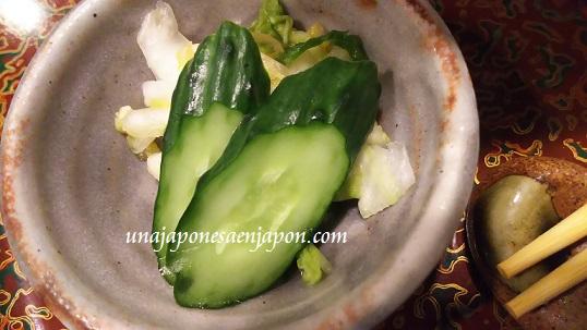 encurtidos tsukemono comida japon